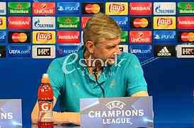 Press conference Arsenal FC