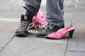 Race in the heels against Breast Cancer