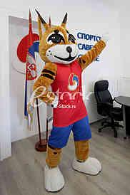 Presentation of the mascot